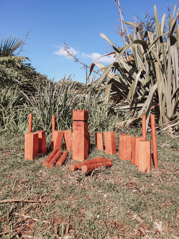 wooden lawn games kubb